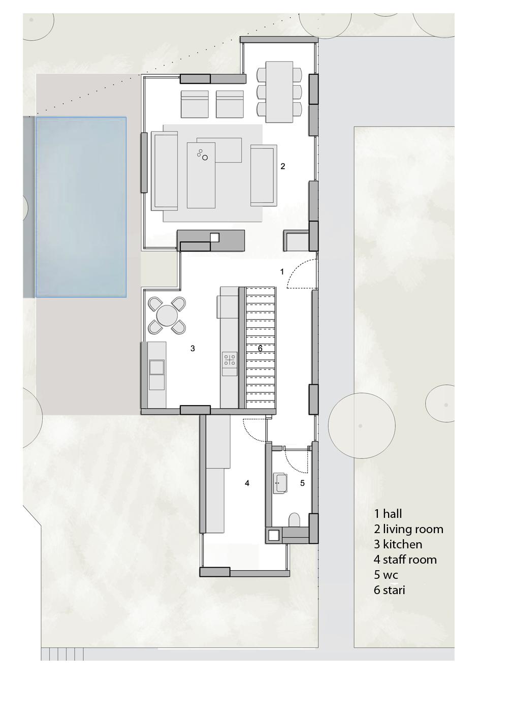 Villa Type D Beyaz Atolye Arcitecture}