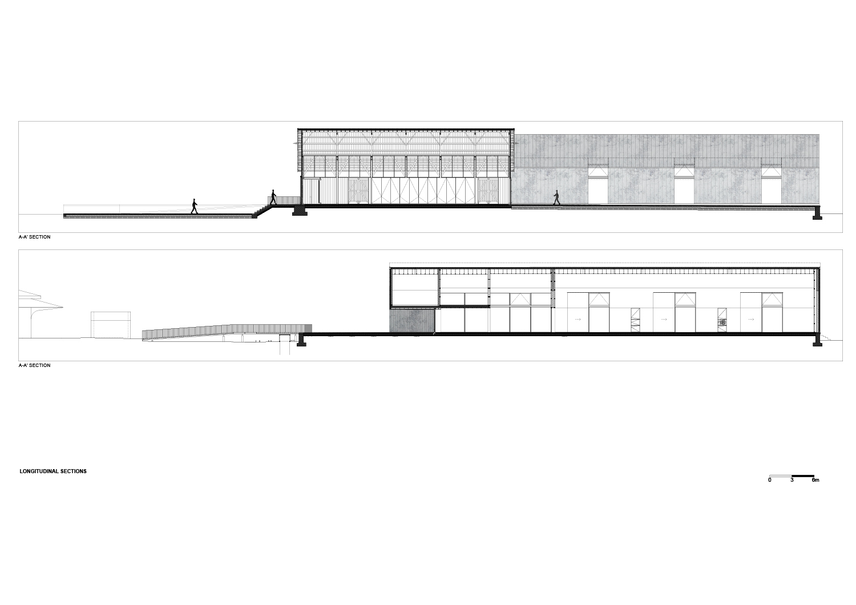 longitudinal sections Rosmaninho+Azevedo - Arquitectos}