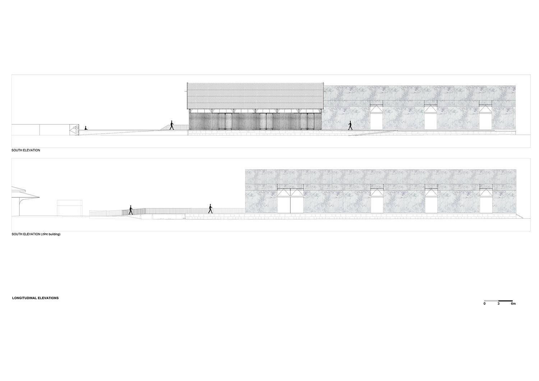 longitudinal elevations Rosmaninho+Azevedo - Arquitectos}