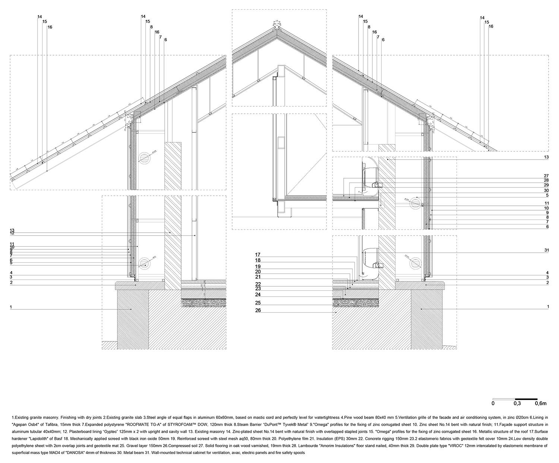 constructive detail_zinc Rosmaninho+Azevedo - Arquitectos}