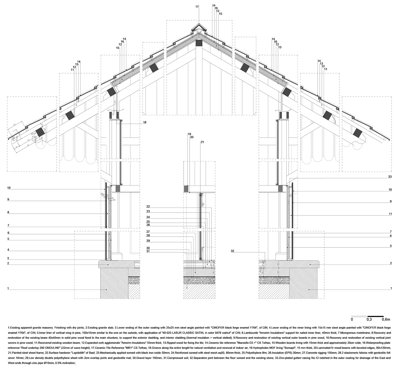 constructive detail_wooden Rosmaninho+Azevedo - Arquitectos}