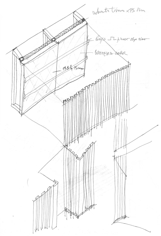 sketchs_zinc Rosmaninho+Azevedo - Arquitectos}