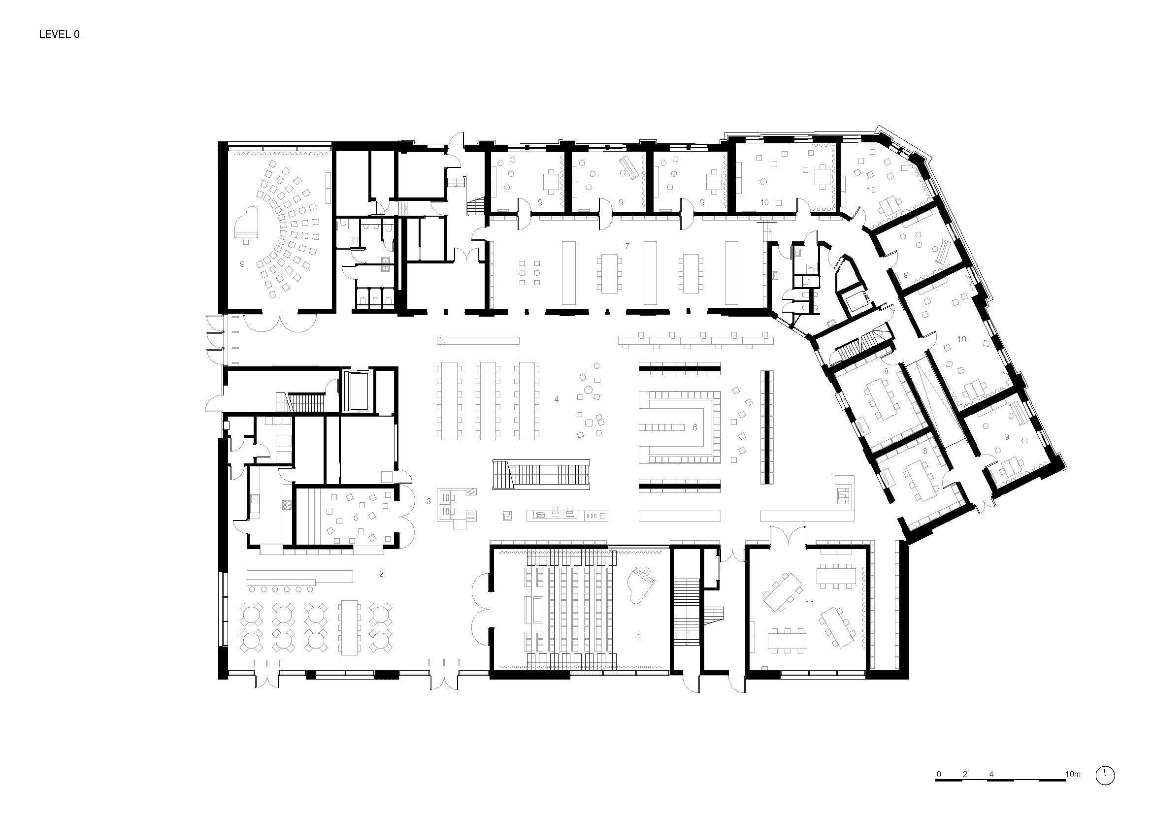 Floor plan 0 KAAN Architecten}