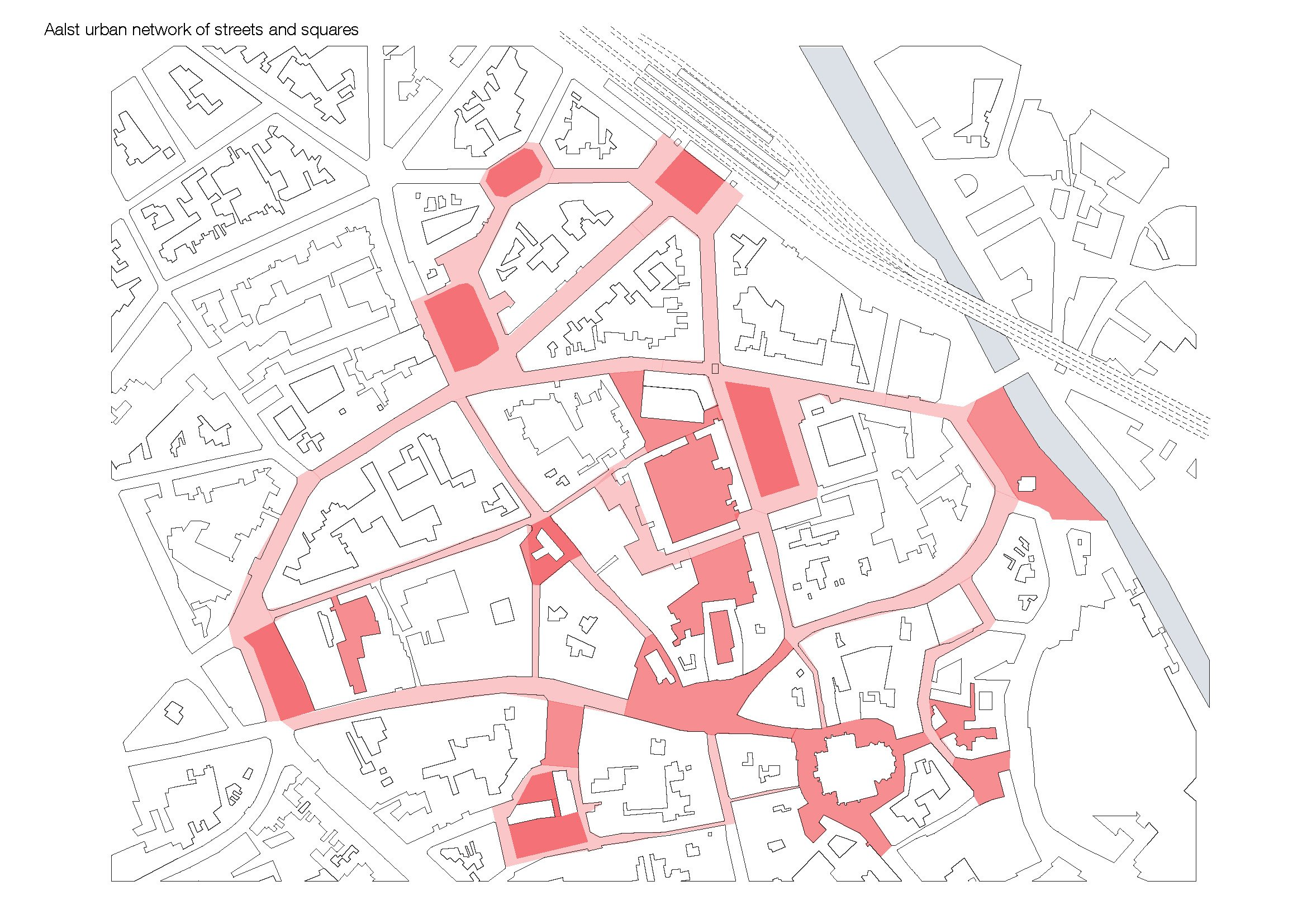 Scheme urban network KAAN Architecten}