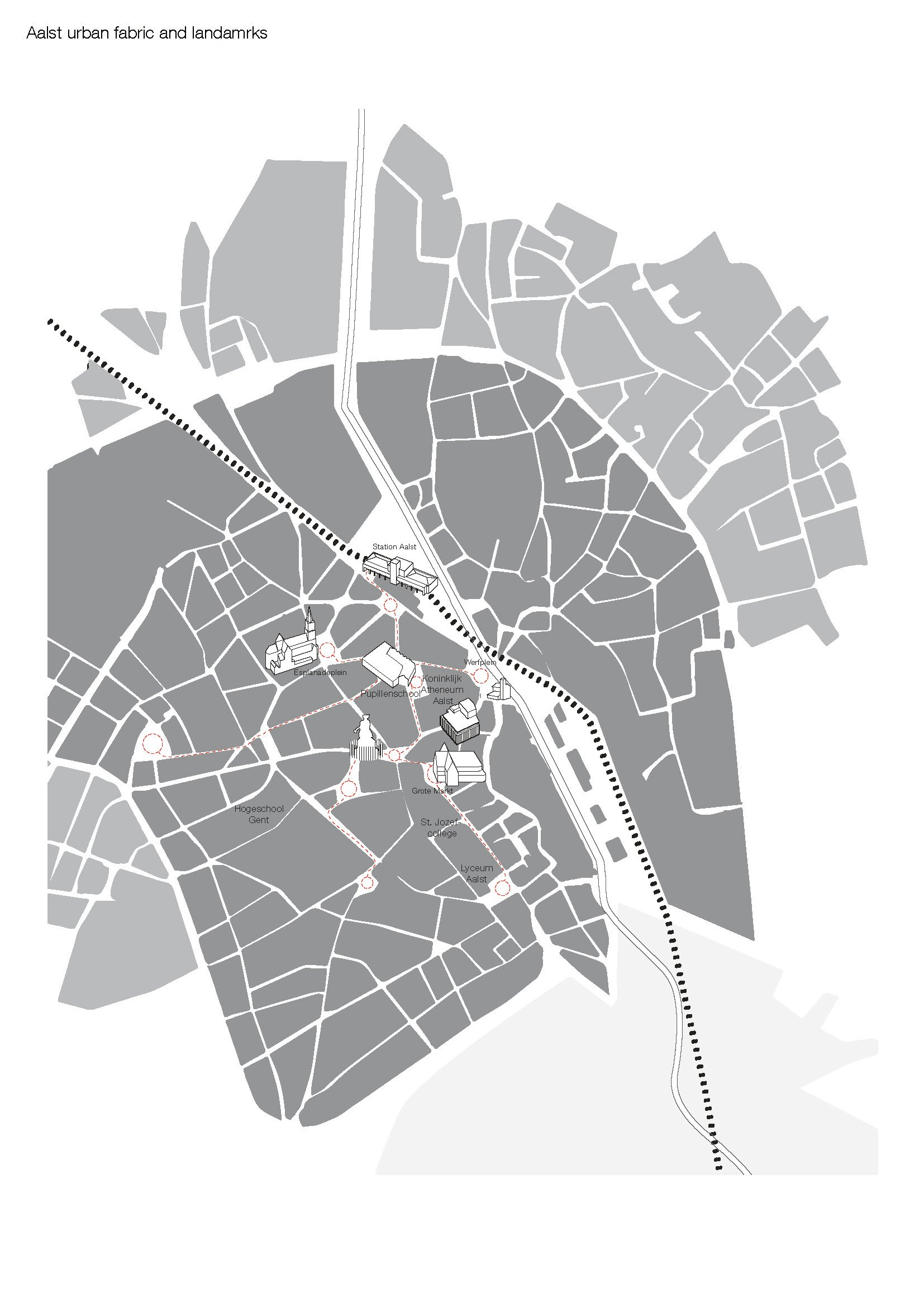 Scheme urban fabric KAAN Architecten}
