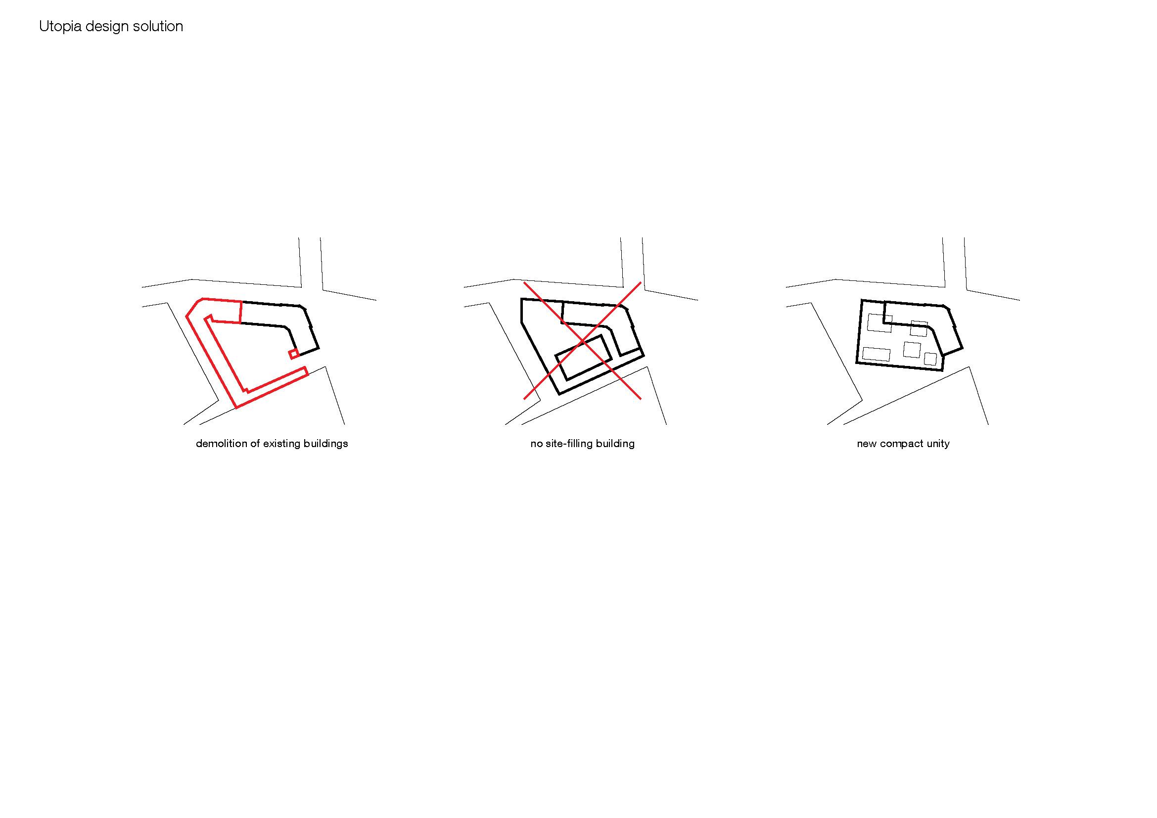 Scheme design solution KAAN Architecten}