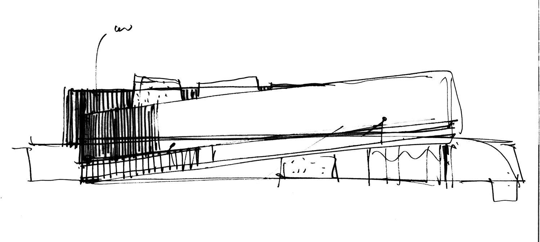 schizzo - sezione Atelier(s) Alfonso Femia - AF517}