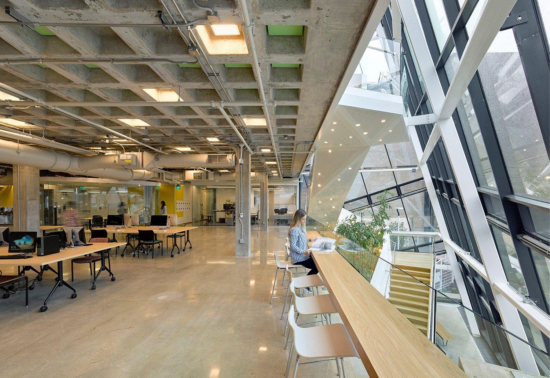 Working stations on first floor David Matthiessen