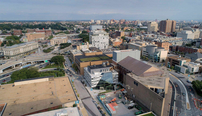 Aerial view David Matthiessen