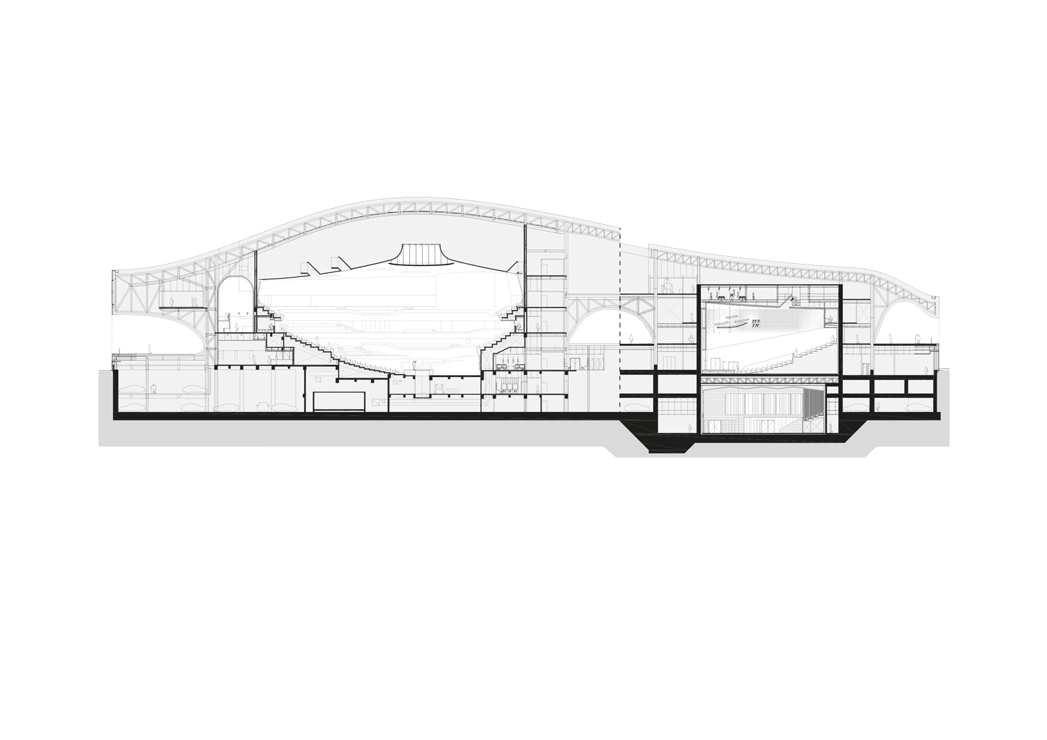 Concert Hall + Recital Hall Mecanoo}