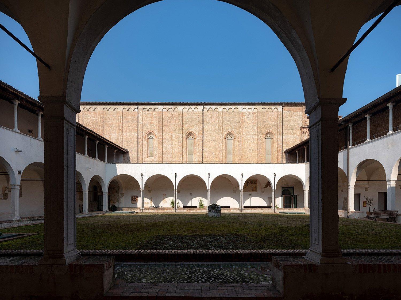 Vista del chiostro di Santa Caterina Marco Zanta