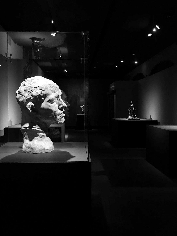 L'allestimento della mostra di Auguste Rodin Gherardiarchitetti