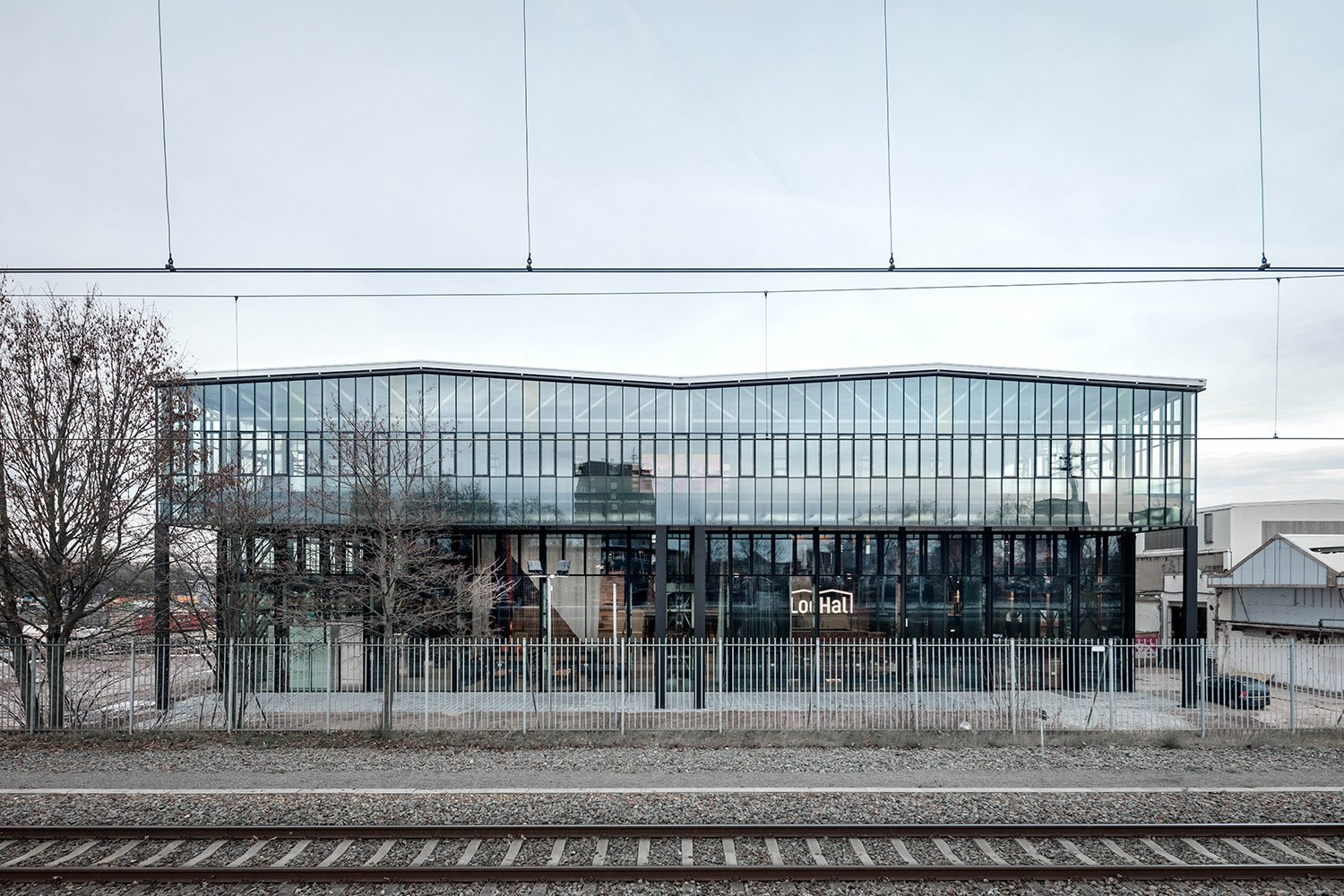 Exterior view from the train station. Stijn Bollaert