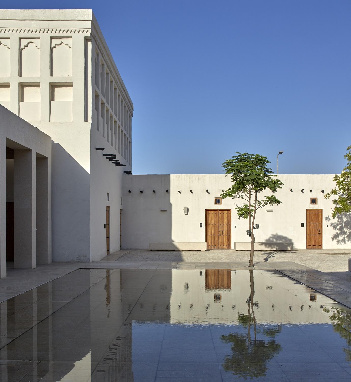 Courtyard, Mohammed Bin Jassim House Edmund Sumner