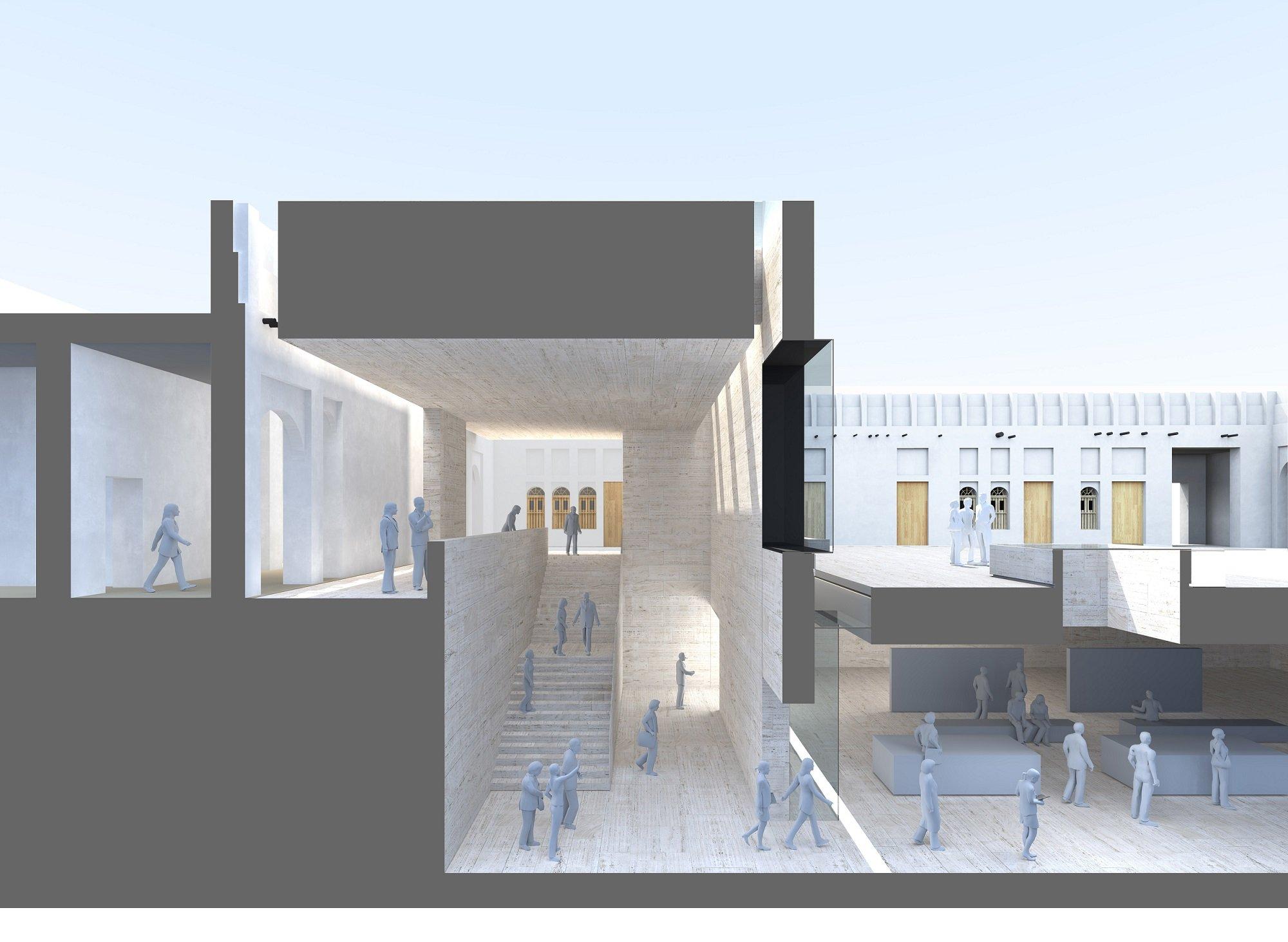 Jelmood 3D Section John McAslan + Partners}