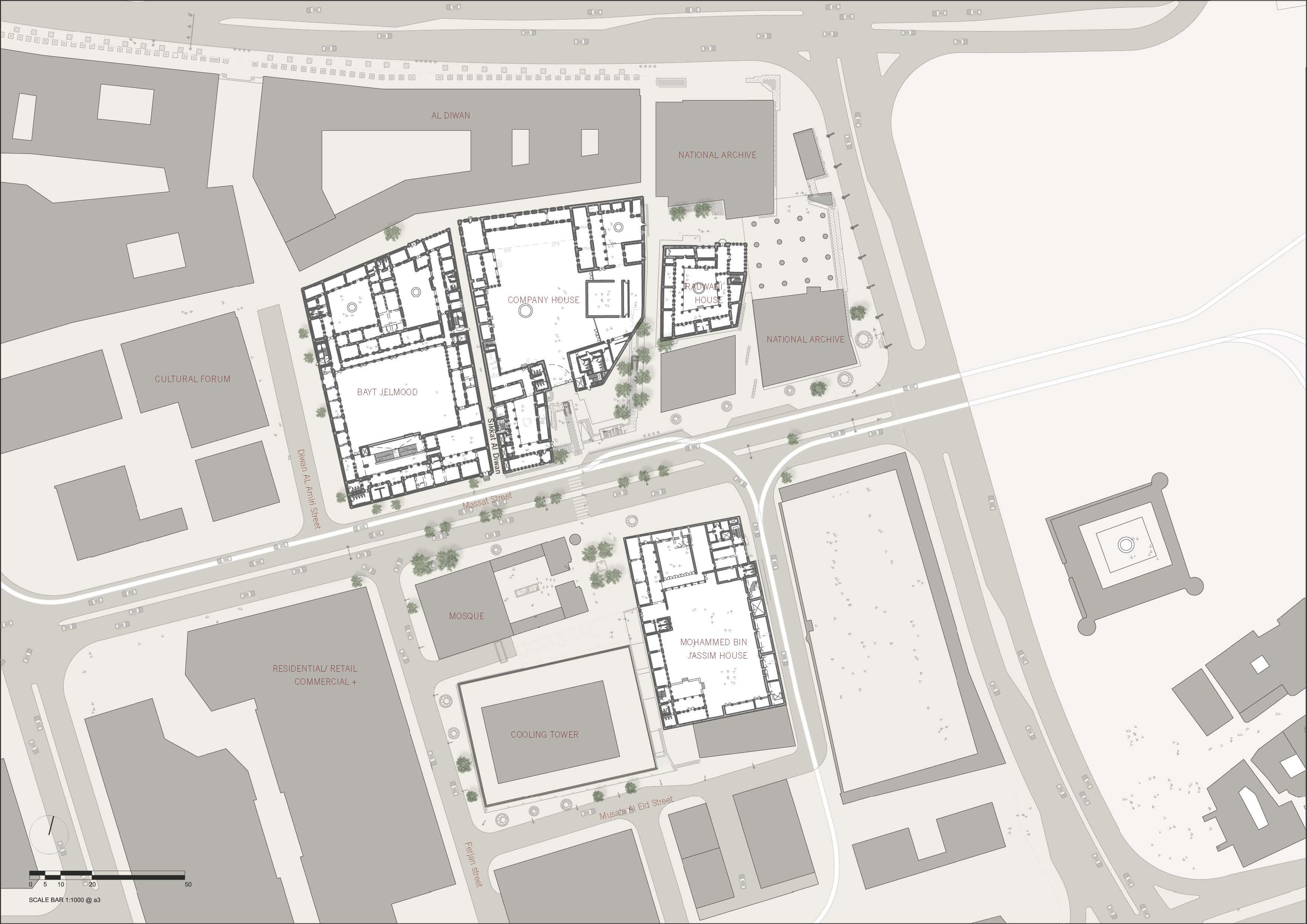 Location Plan with context John McAslan + Partners}