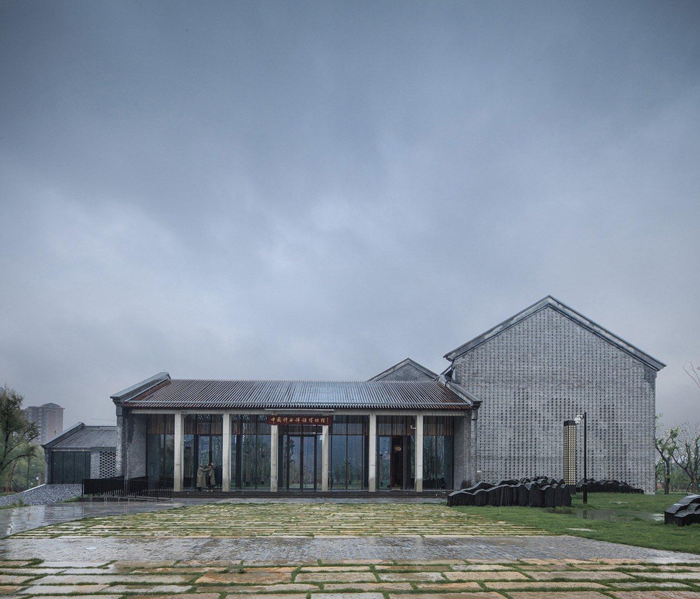 Main Entrance Hall of the Museum Hu Yijie