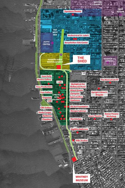 Site Plan - Chelsea, Hudson Yards Diller Scofidio + Renfro}