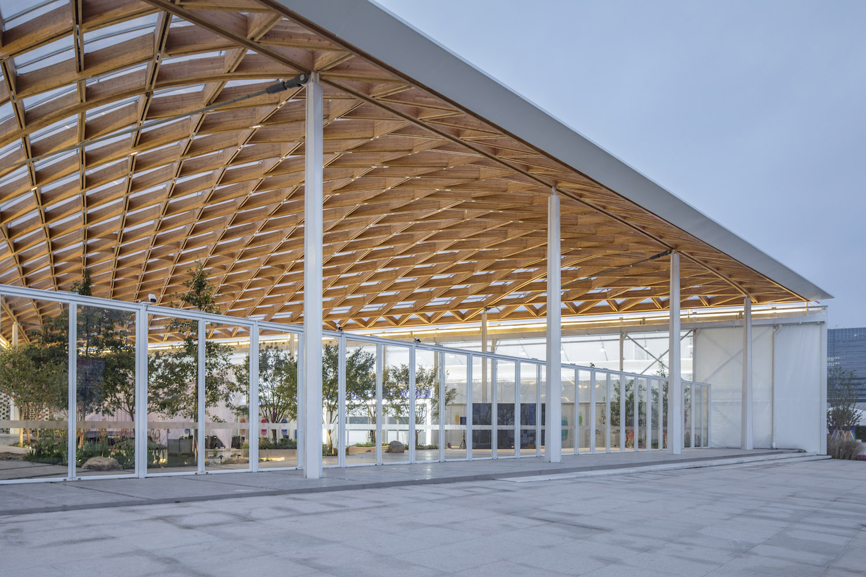 Warm Parametric Timber Structure Fangfang Tian