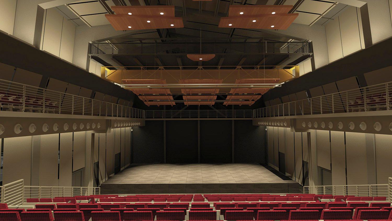 La Sala: dalla platea verso il palco ©AtelierTraldi