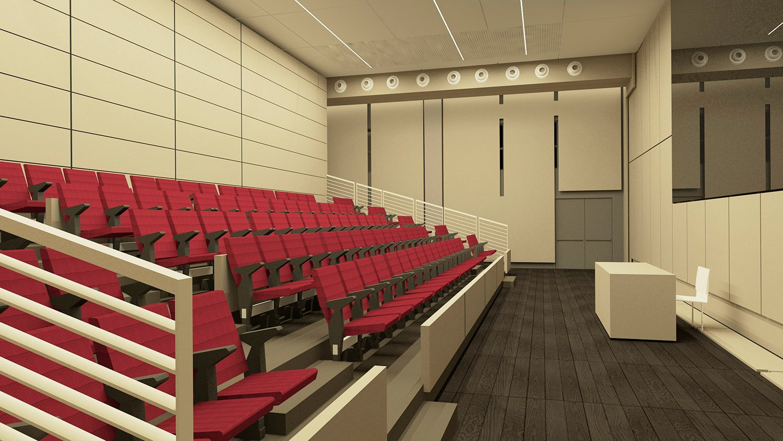 Sala Conferenze 1 ©AtelierTraldi