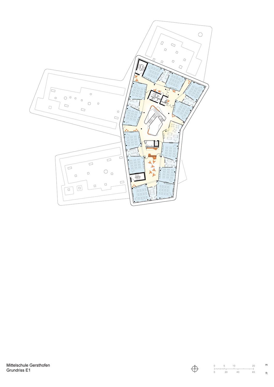 Floor Plan First Floor Behnisch Architekten}