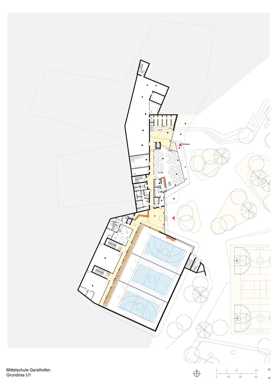 Floor Plan Basement Behnisch Architekten}