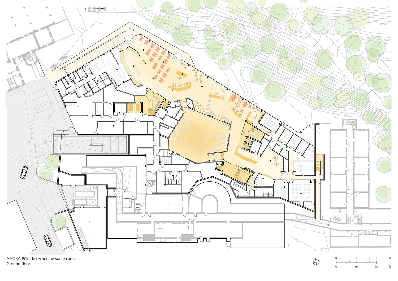 Floor Plan Ground Floor Behnisch Architekten}
