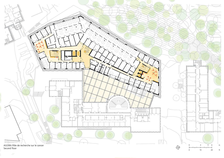 Floor Plan Second Floor Behnisch Architekten}