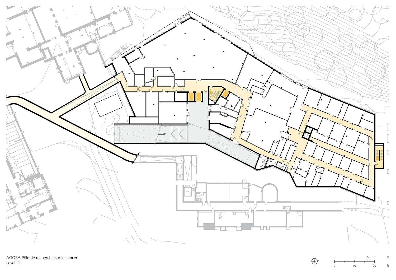 Floor Plan Basement Level -1 Behnisch Architekten}