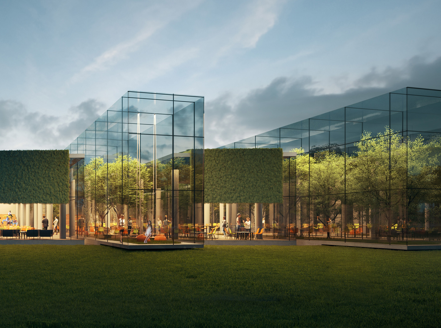 exterior rendering of the project-09 ivabox