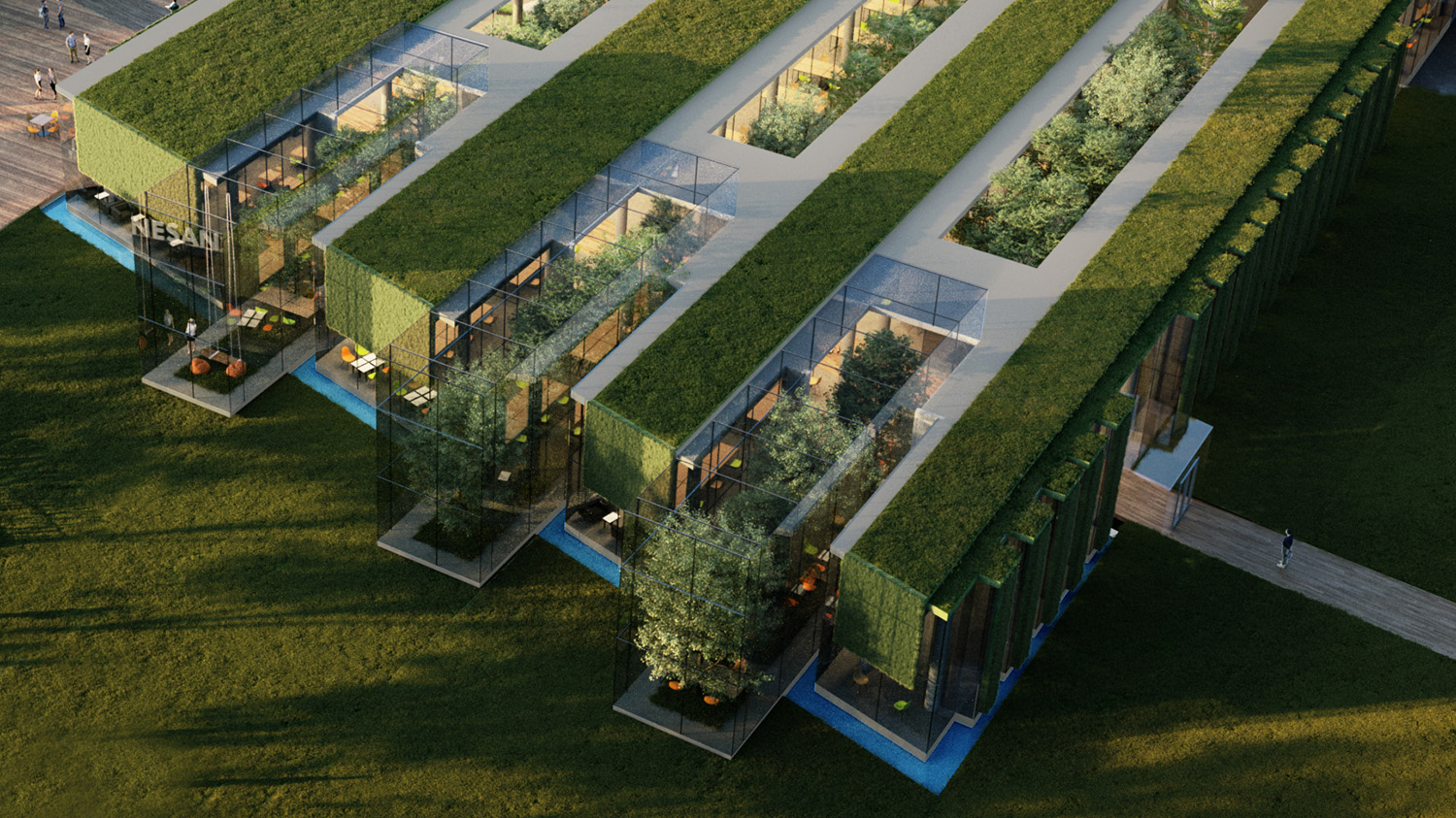 exterior rendering of the project-11 ivabox