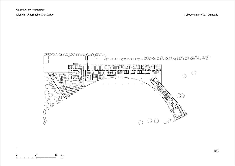 College Lamballe - groundfloor Dietrich | Untertrifaller}