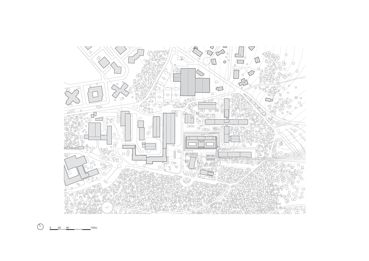 Site plan KAAN Architecten}