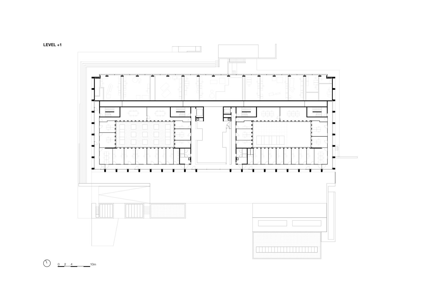 Floor plan 1 KAAN Architecten}