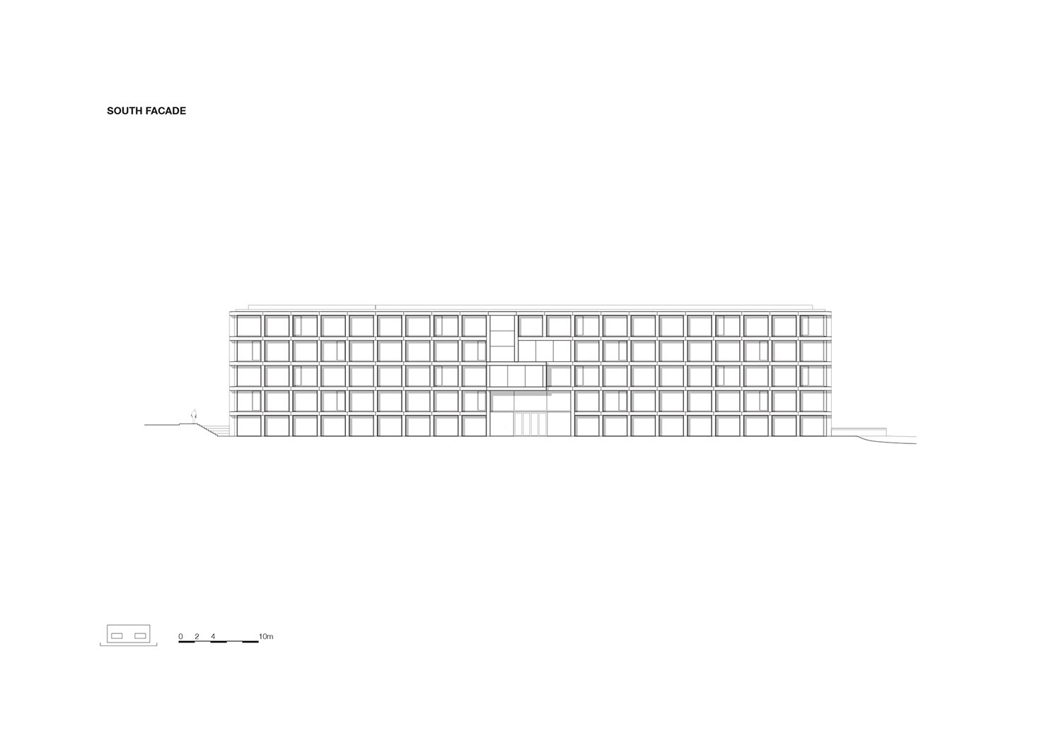 Elevation south KAAN Architecten}