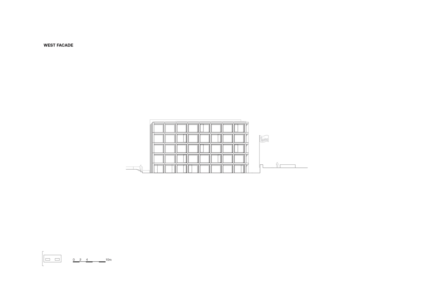 Elevation west KAAN Architecten}