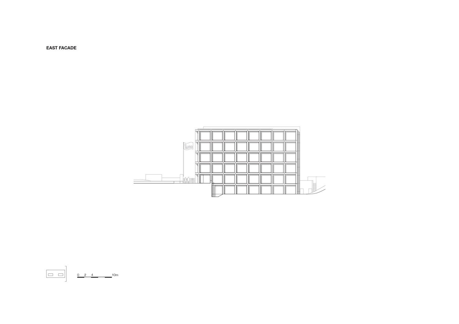 Elevation east KAAN Architecten}