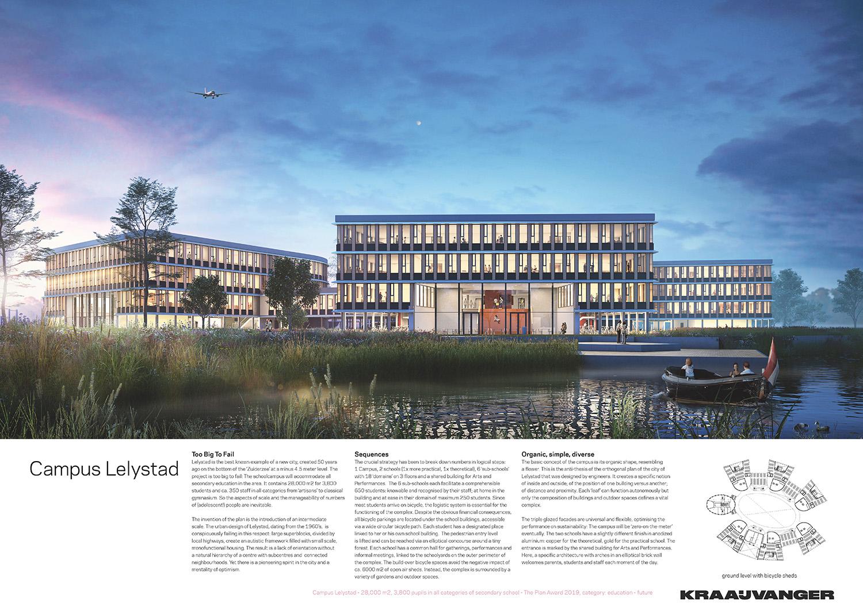 Campus Lelystad - panel 01 © Kraaijvanger Architects}