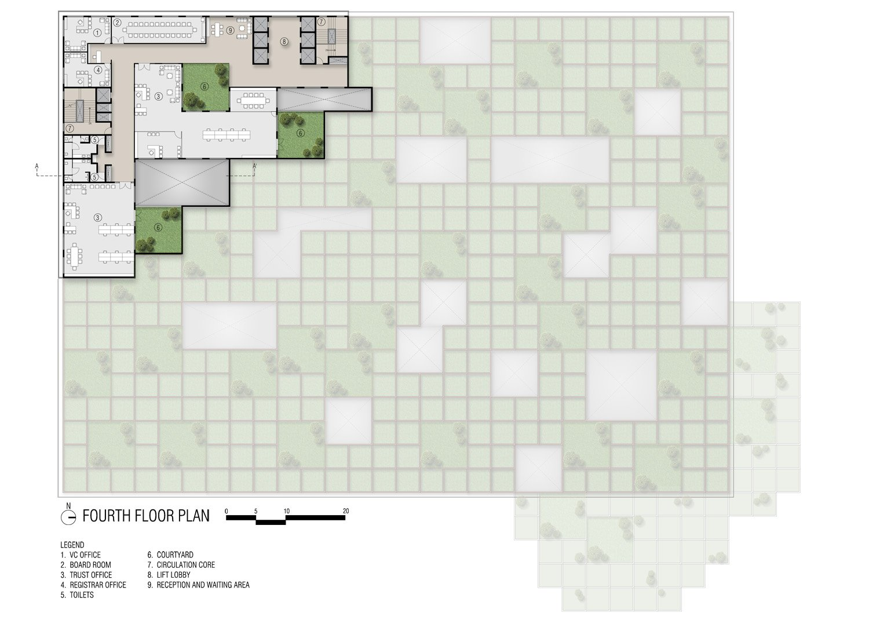 fourth floor plan sanjay puri architects}