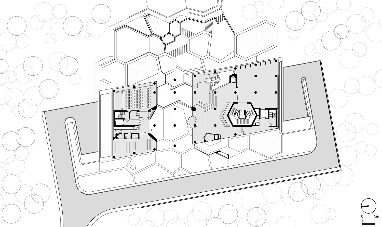 Plan: Ground Floor Erkal Architects}