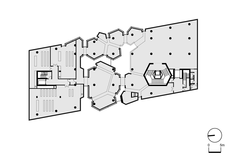 Plan: First Floor Erkal Architects}