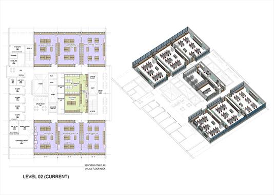 Lab plans Leers Weinzapfel Associates}