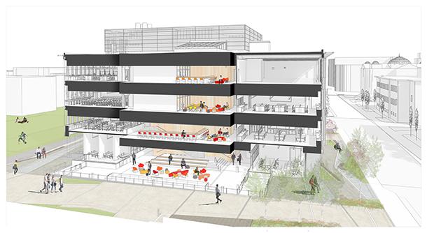Building axon Leers Weinzapfel Associates}