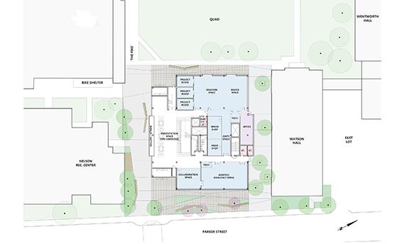 Ground Floor Plan Leers Weinzapfel Associates}
