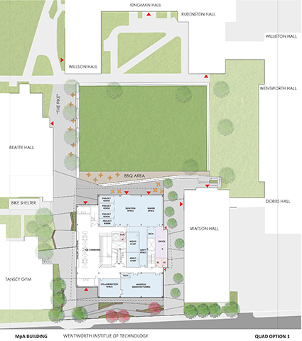 Landscape Plan Leers Weinzapfel Associates}