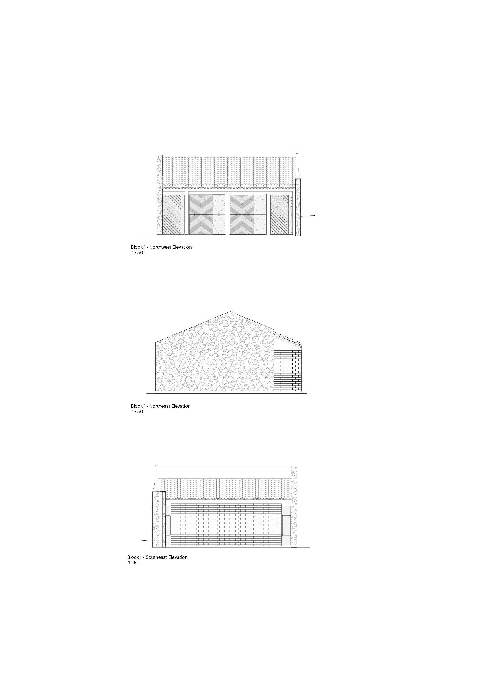 Block 1 Elevations MASS Design Group}