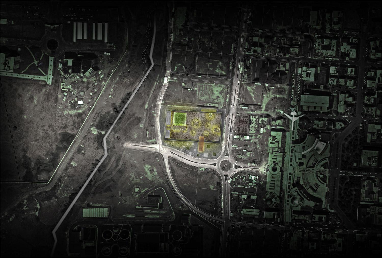 Masterplan dell'area Gherardiarchitetti}