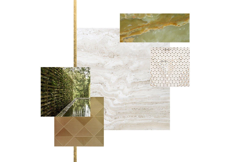 I materiali del progetto Gherardiarchitetti