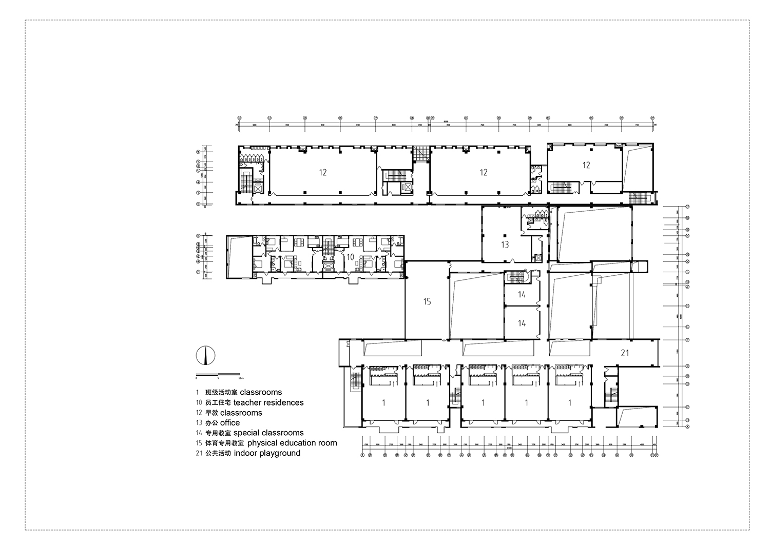 level 2 plan Interval Architects}